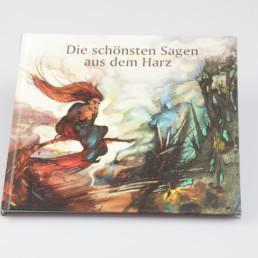 Buch: Die schönsten Sagen aus dem Harz