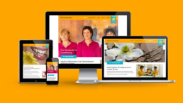 Praxiswebsite multimedialer Ansatz