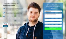 Website Kontakt und CTA