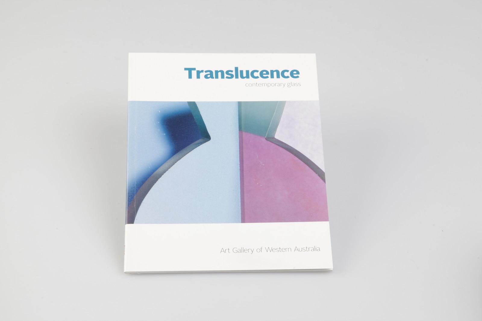 Katalogdesign Translucence Contemporary Glass Diesedrei