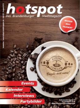 HOTSPOT Stadtmagazin Coveransicht