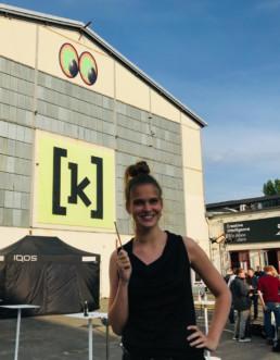 Luise Bussert beim ADC 2019